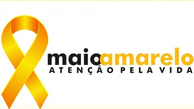logotipo campanha maio amarelo