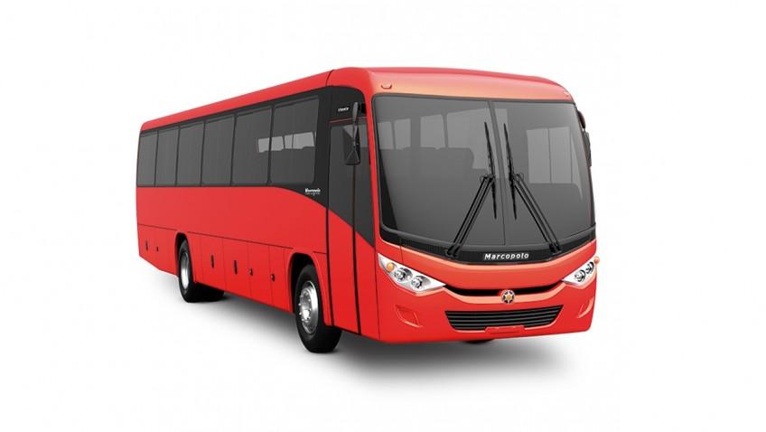 ônibus modelo Novo Ideale, da Marcopolo