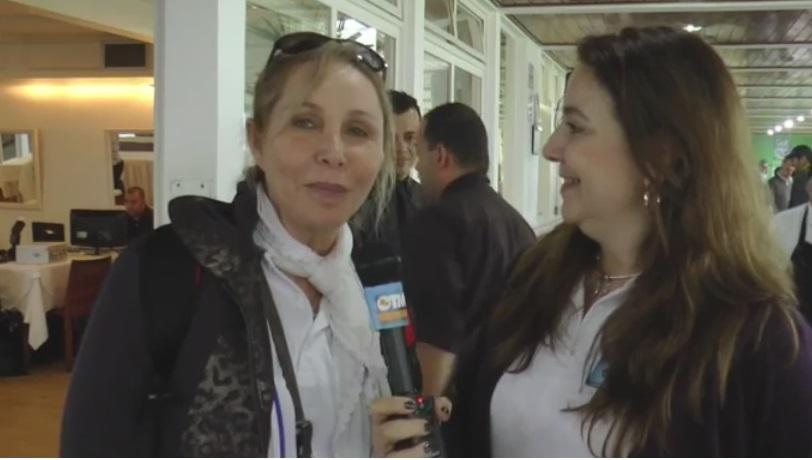 Lais Helou, representante feminina no torneio (esposa do sr. Urubatan Helou)
