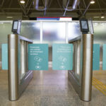 D'Flow destina-se ao controle de acesso a passageiros